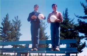 Juan David Valenzuela Riquelme (a la derecha)